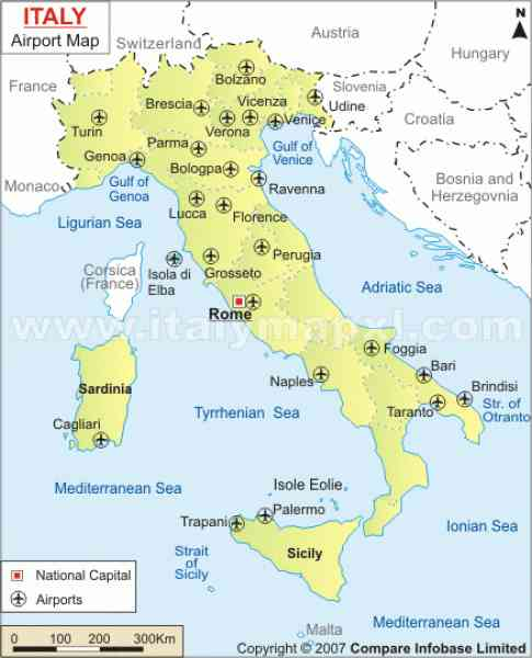 Worksheet. Map Of Italy With Airports  Map  Holiday  Travel HolidayMapQcom