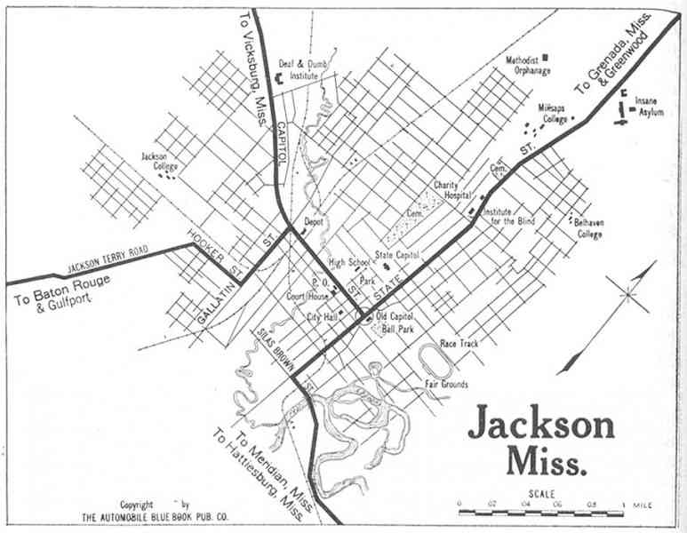 map of jackson mississippi 168 Map Of Jackson Mississippi