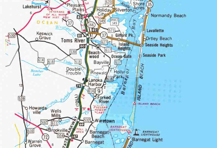 map of jersey shore 5 Map Of Jersey Shore