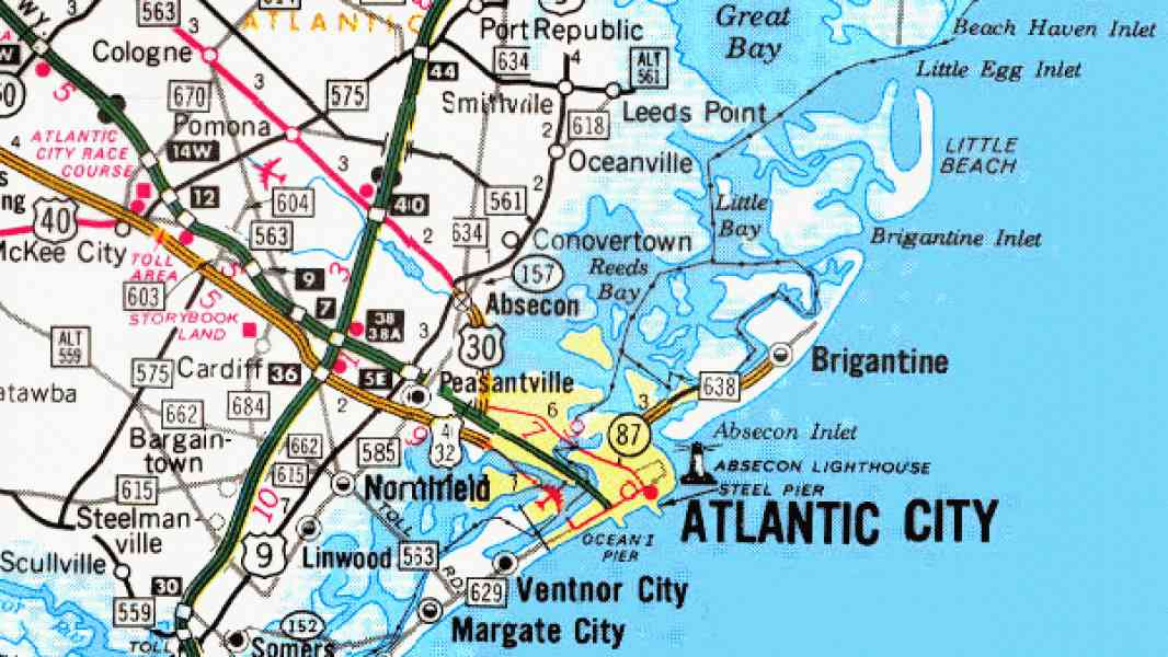 map of jersey shore 517 Map Of Jersey Shore