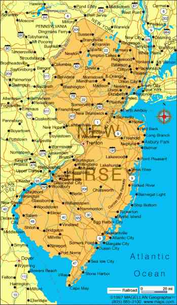 map of jersey shore 212 Map Of Jersey Shore