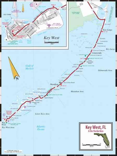 map of key west 717 Map Of Key West