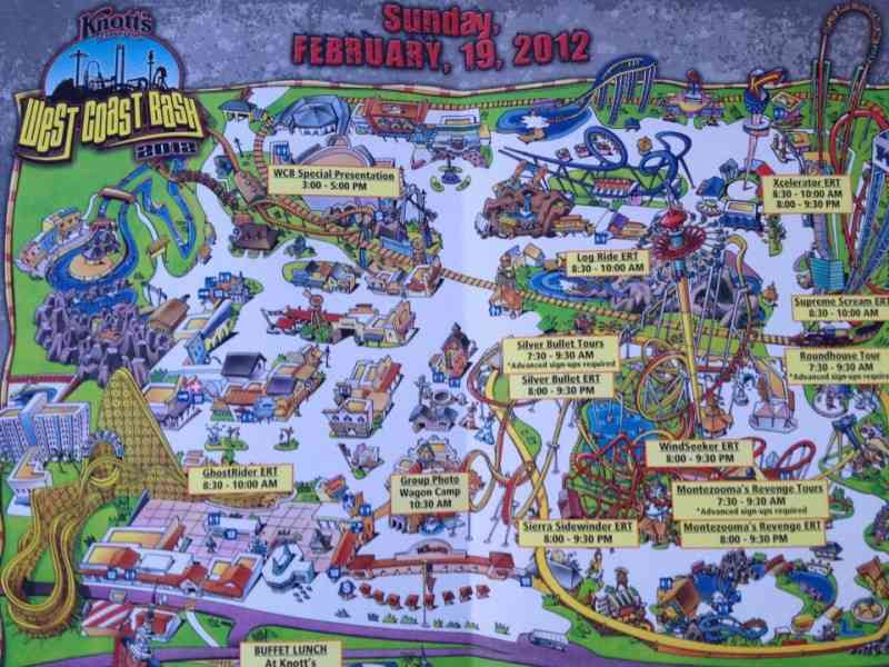 Map Of Knotts Berry Farm Map Holiday Travel