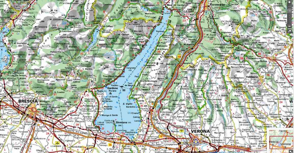 map of lake garda in italy 203 Map Of Lake Garda In Italy