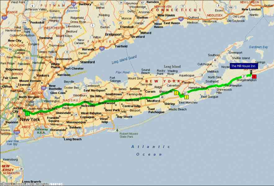 Map Long Island N Y Map Holiday Travel HolidayMapQ