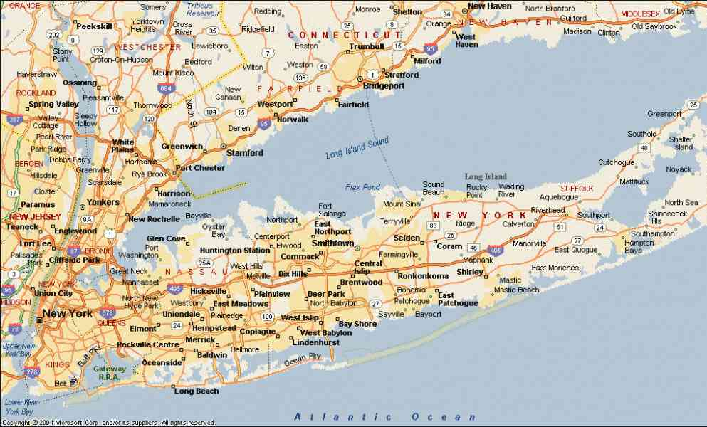 map of long island new york world map 07. Black Bedroom Furniture Sets. Home Design Ideas