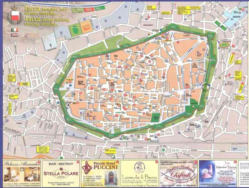 map of lucca italy 26 Map Of Lucca Italy
