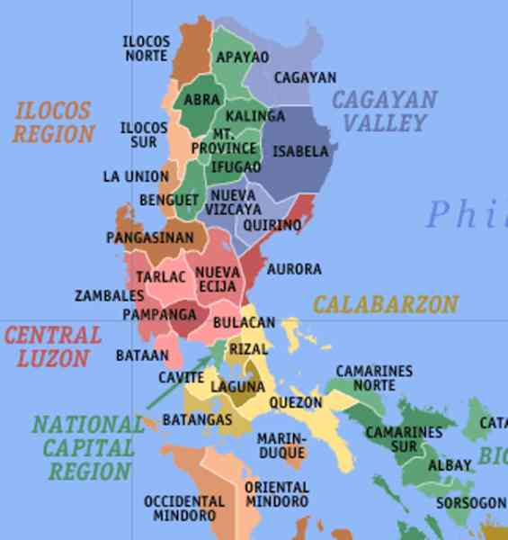 map of luzon 5 Map Of Luzon