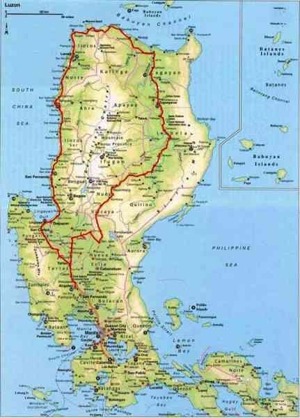 map of luzon 151 Map Of Luzon
