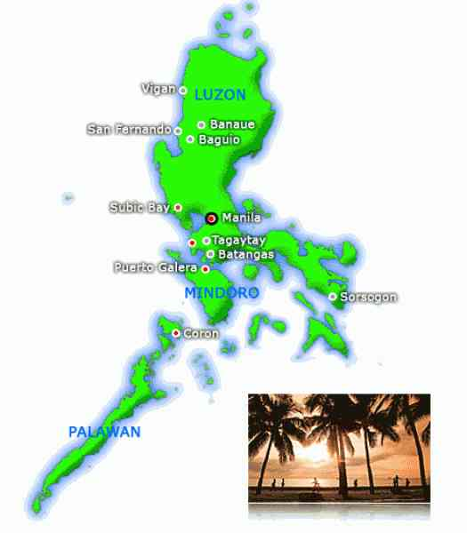 map of luzon 361 Map Of Luzon