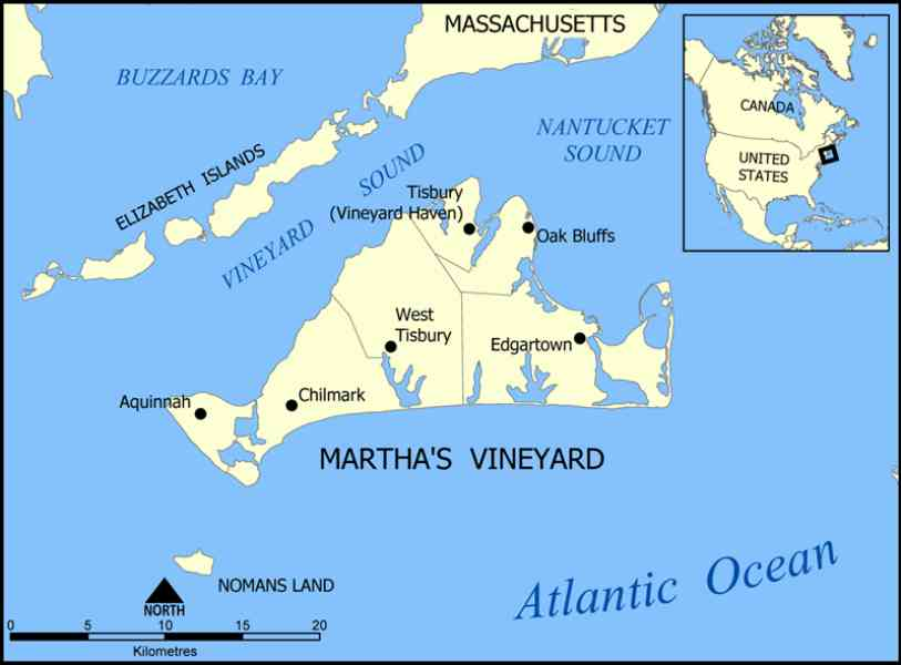 map of martha vineyard 219 Map Of Martha Vineyard