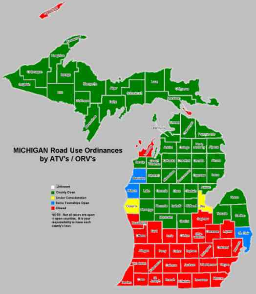 Michigan County Maps With Townships  Bing Images