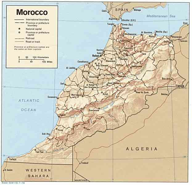 map of morocco 331 Map Of Morocco