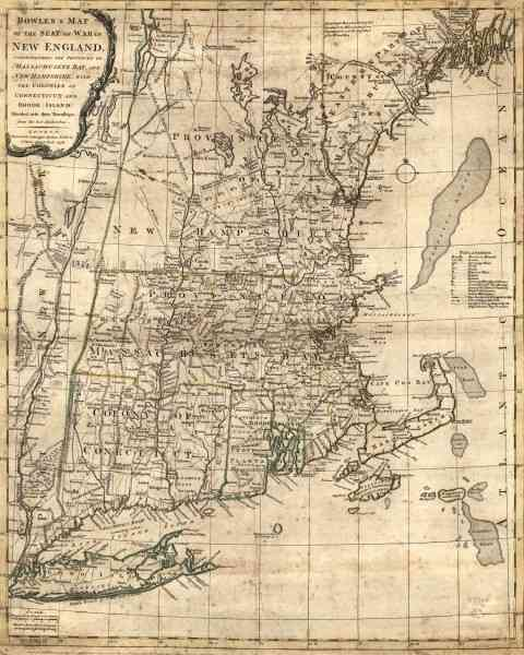 map of new england colony 349 Map Of New England Colony