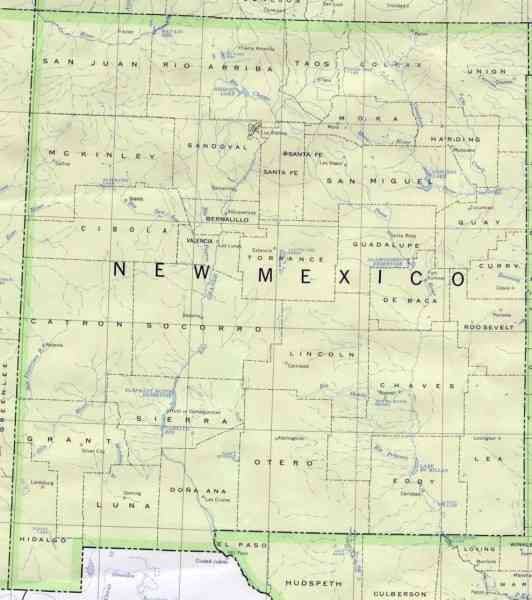 map of new mexico 23 Map Of New Mexico