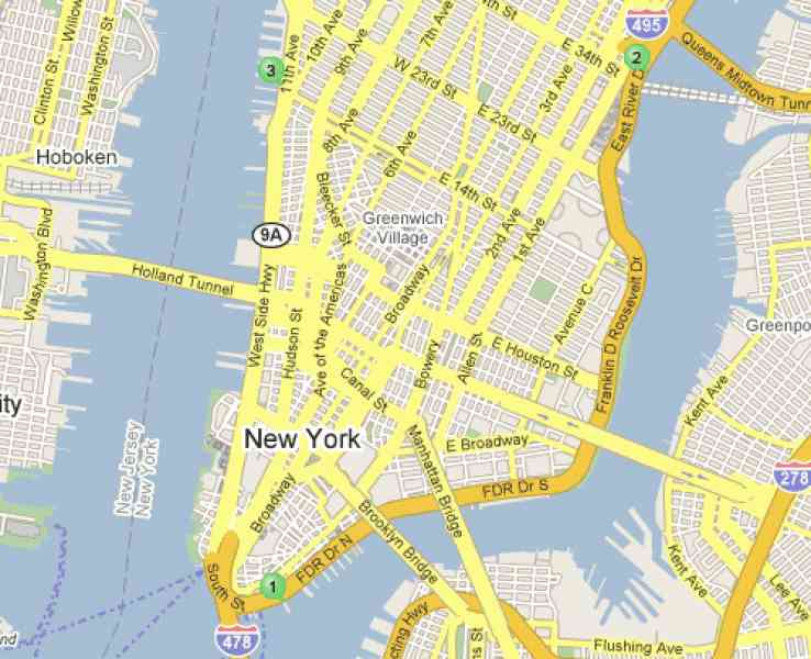Map Of Nyc Airports - HolidayMapQ.com