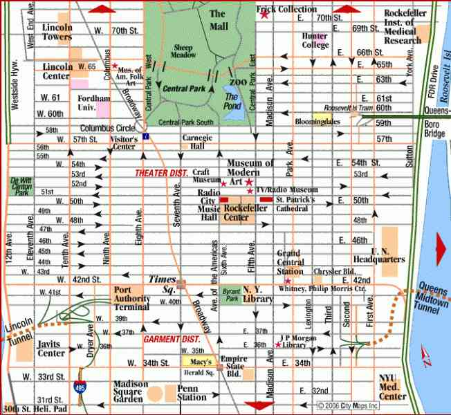 map of nyc manhattan 33 Map Of Nyc Manhattan