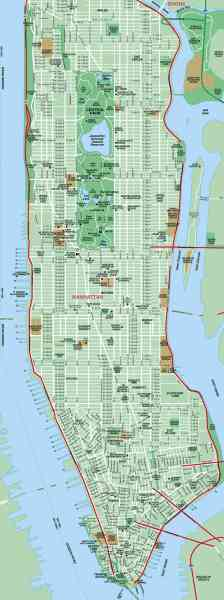 map of nyc manhattan 324 Map Of Nyc Manhattan