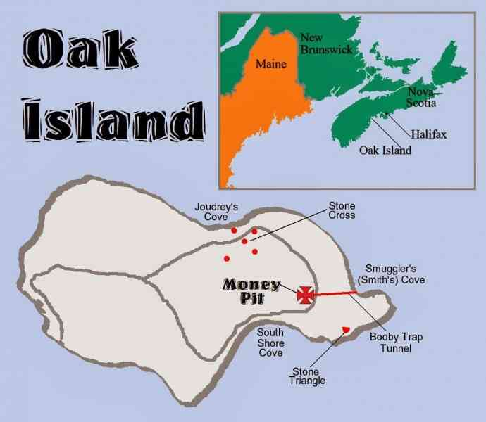map of oak island 44 Map Of Oak Island