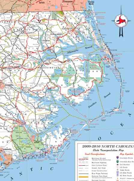 map of outer banks nc 73 Map Of Outer Banks Nc