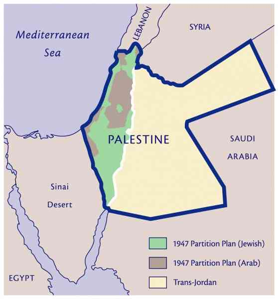 map of palestine 3 Map Of Palestine