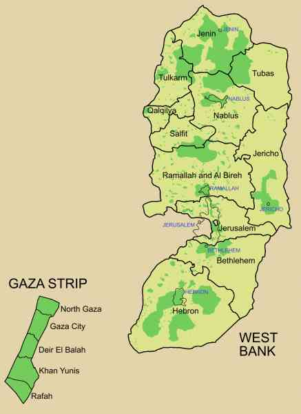 map of palestine 29 Map Of Palestine