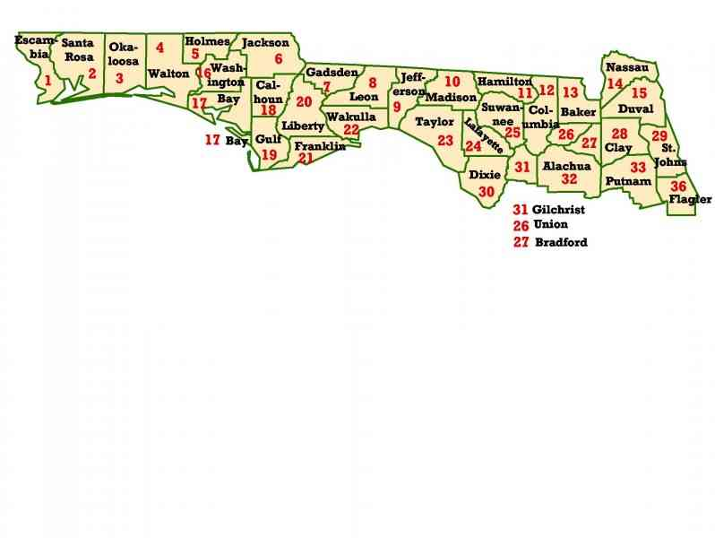 map of panhandle of florida 3 Map Of Panhandle Of Florida
