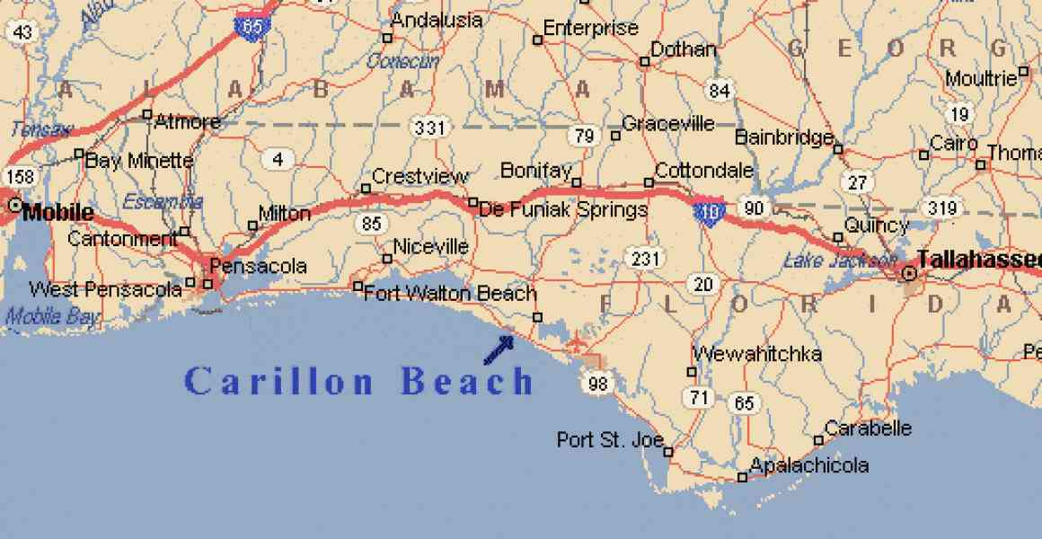 map of panhandle of florida 170 Map Of Panhandle Of Florida