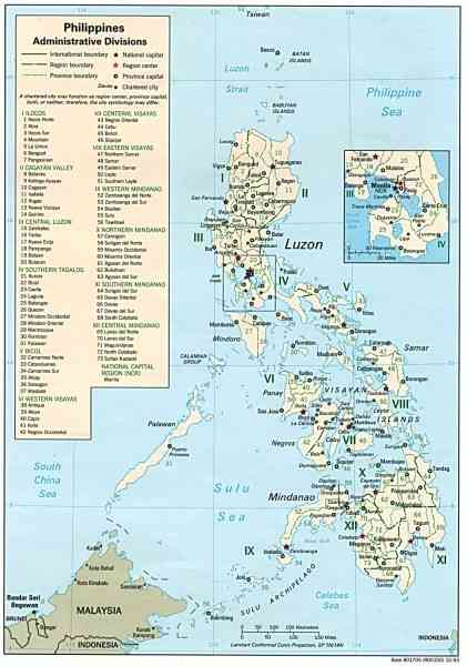 map of philippines 6 Map Of Philippines
