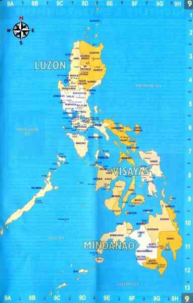 map of philippines 76 Map Of Philippines
