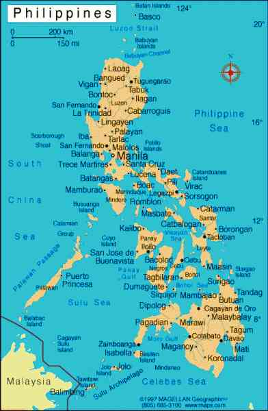 map of philippines 386 Map Of Philippines