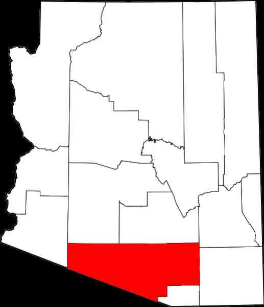 map of pima 187 Map Of Pima