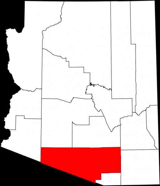 map of pima 13 Map Of Pima