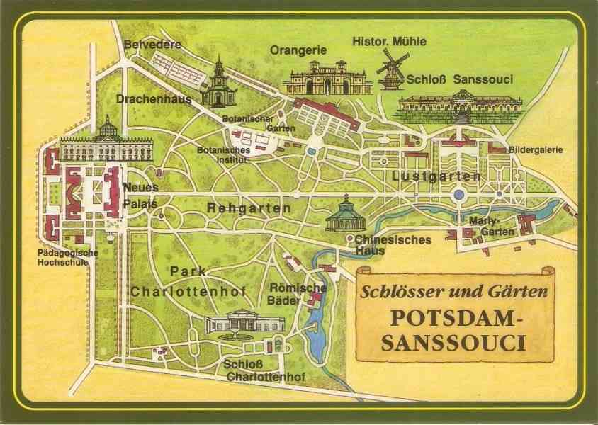 map of potsdam 766 Map Of Potsdam