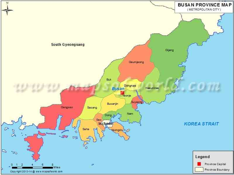 map of pusan 491 Map Of Pusan