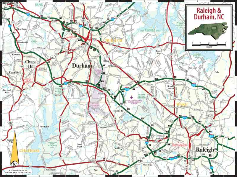map of raleigh nc 3 Map Of Raleigh Nc