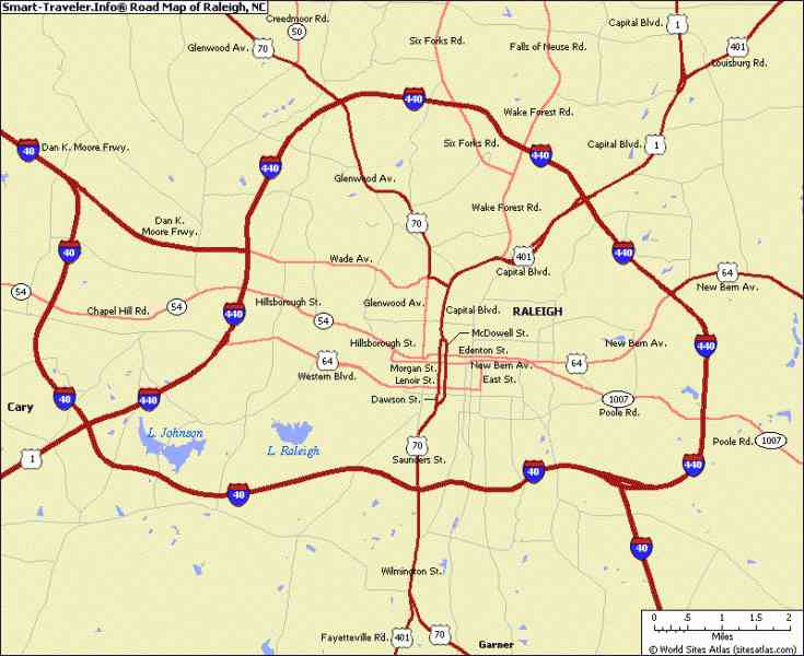 Map Of Raleigh Nc  Map  Holiday  Travel HolidayMapQ