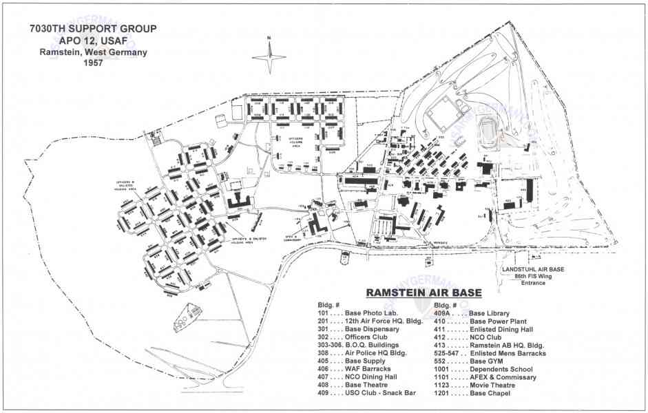 Map Of Ramstein Germany Map Holiday Travel HolidayMapQcom - Germany map ramstein