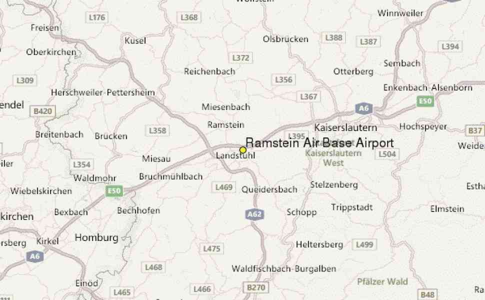 Map Of Ramstein Germany | Holiday Map Q | HolidayMapQ.com ®