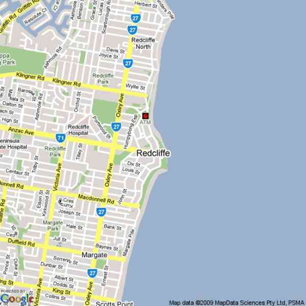 map of redcliffe 10 Map Of Redcliffe
