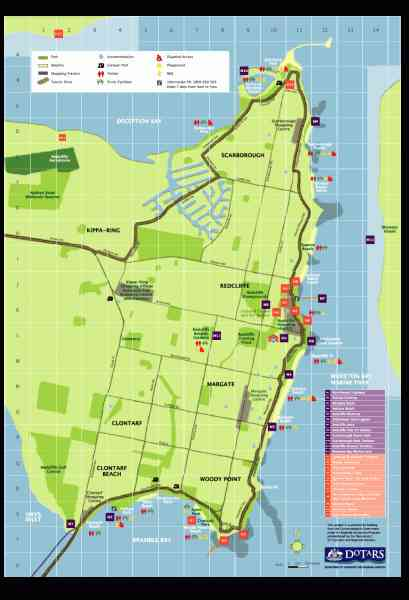 map of redcliffe 411 Map Of Redcliffe