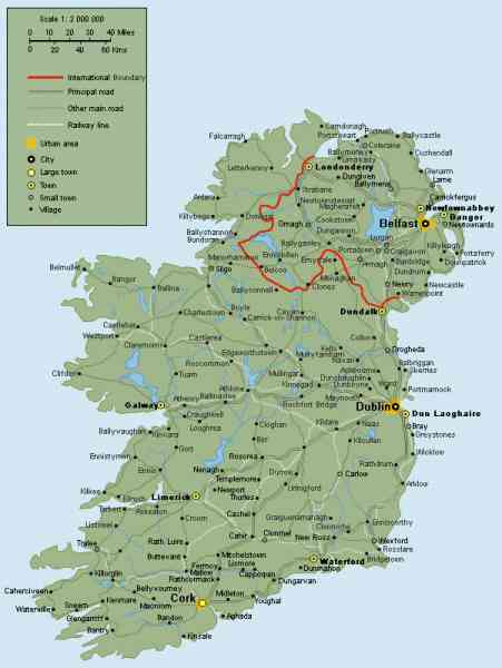 map of republic ireland 148 Map Of Republic Ireland