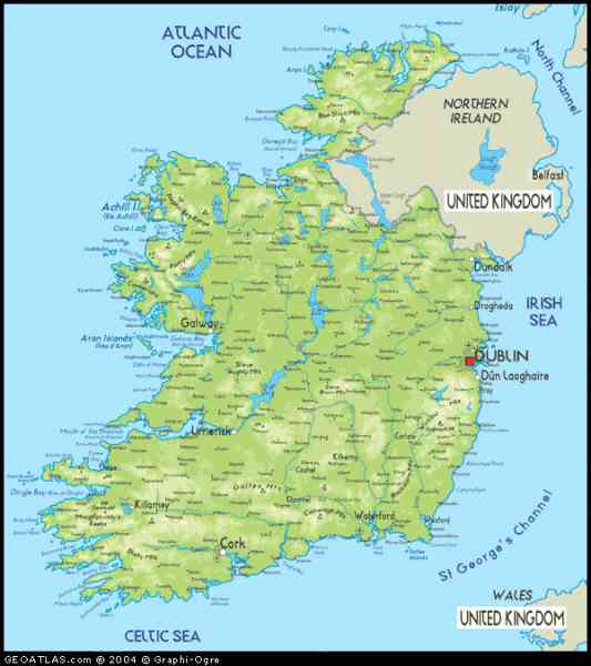 map of republic ireland 218 Map Of Republic Ireland