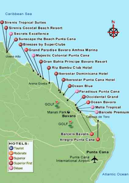 map of resorts in dominican republic 108 Map Of Resorts In Dominican Republic