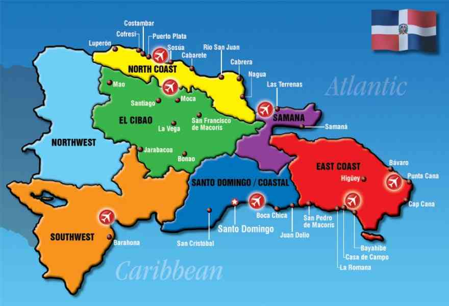 map of resorts in dominican republic 34 Map Of Resorts In Dominican Republic