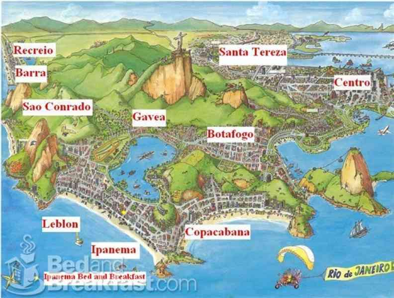 map of rio brazil 63 Map Of Rio Brazil