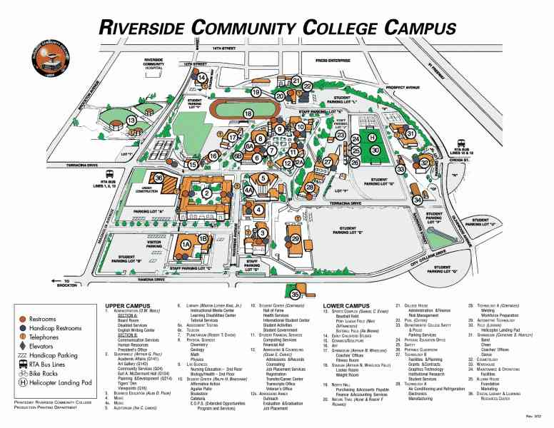 map of riverside 8 Map Of Riverside