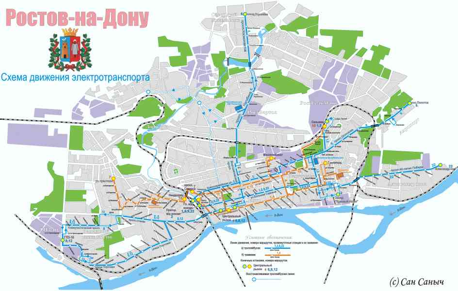 map of rostov 177 Map Of Rostov