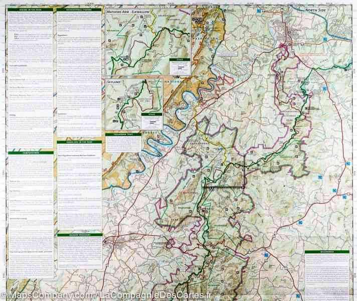 map of shenandoah national park 38 Map Of Shenandoah National Park