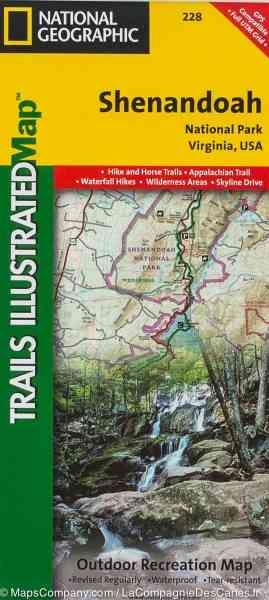 map of shenandoah national park 218 Map Of Shenandoah National Park